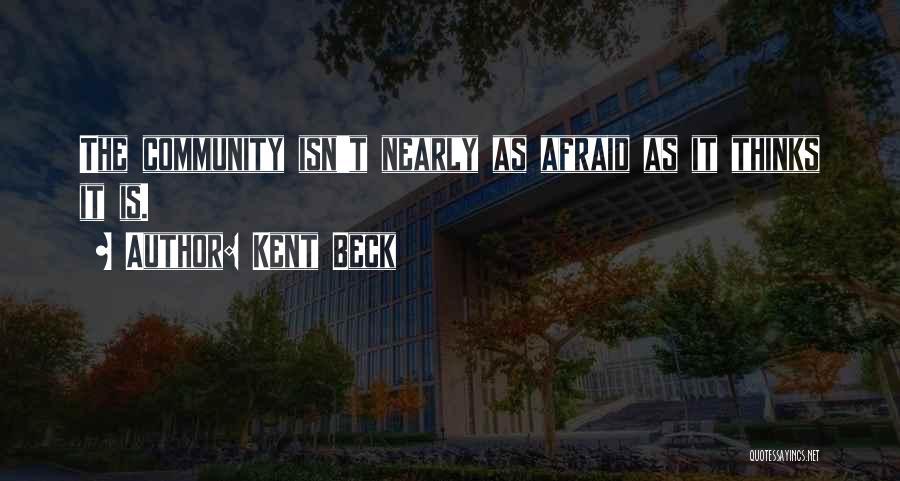 Kent Beck Quotes 936316