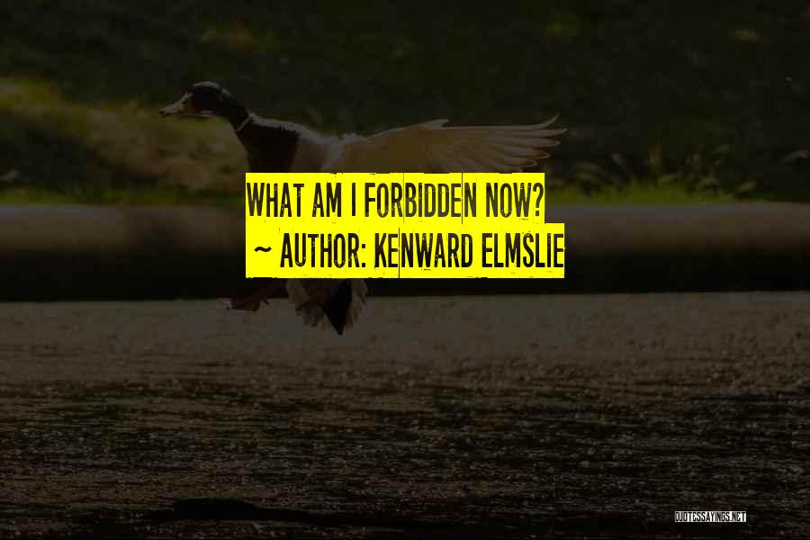 Kenward Elmslie Quotes 269578