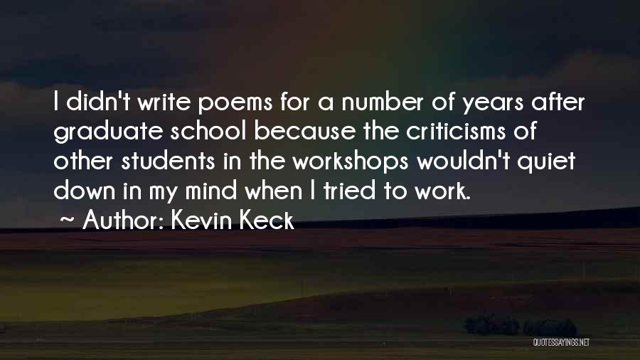 Kevin Keck Quotes 814574