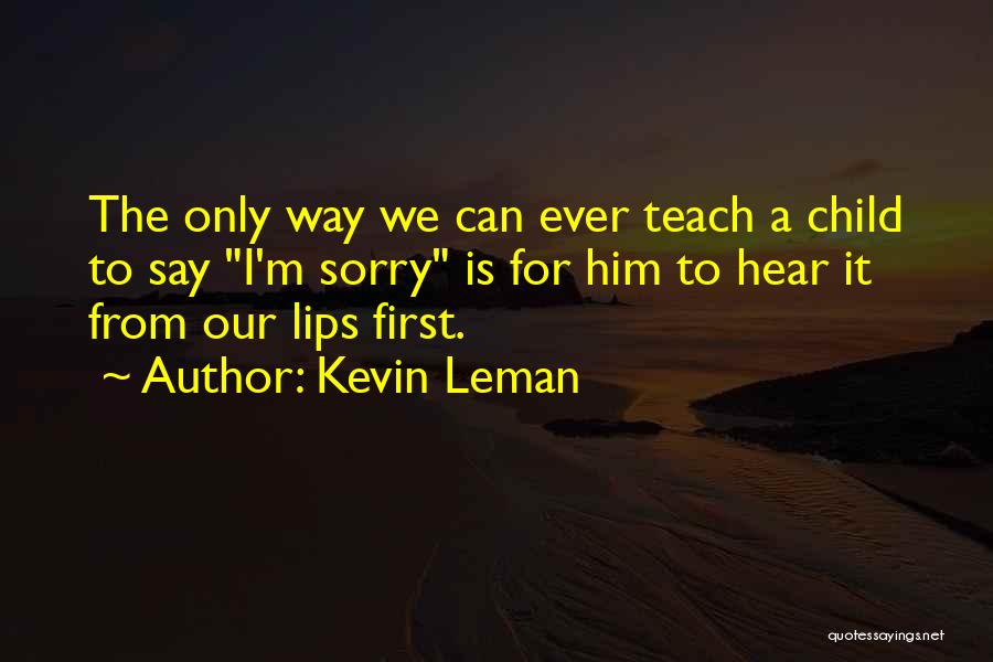 Kevin Leman Quotes 1067165