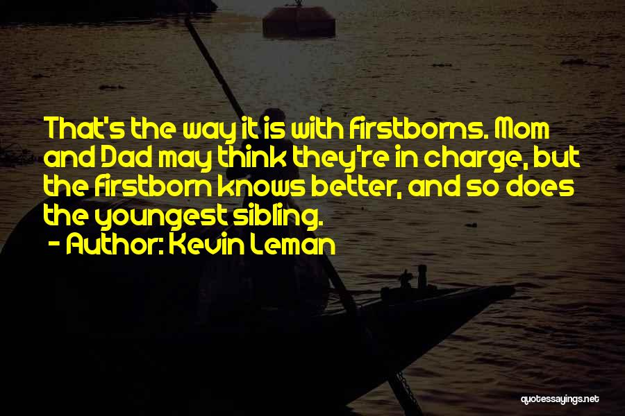 Kevin Leman Quotes 1351491