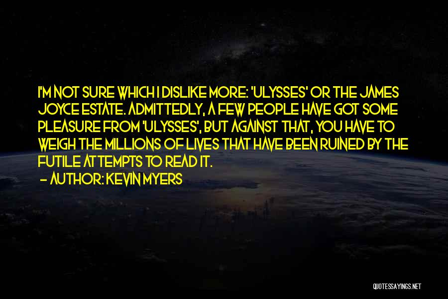 Kevin Myers Quotes 1941172