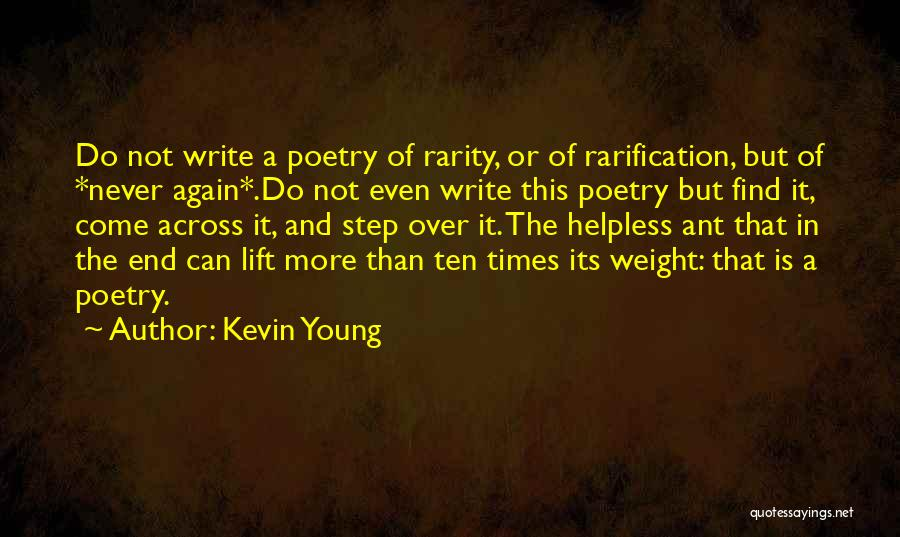Kevin Young Quotes 405817