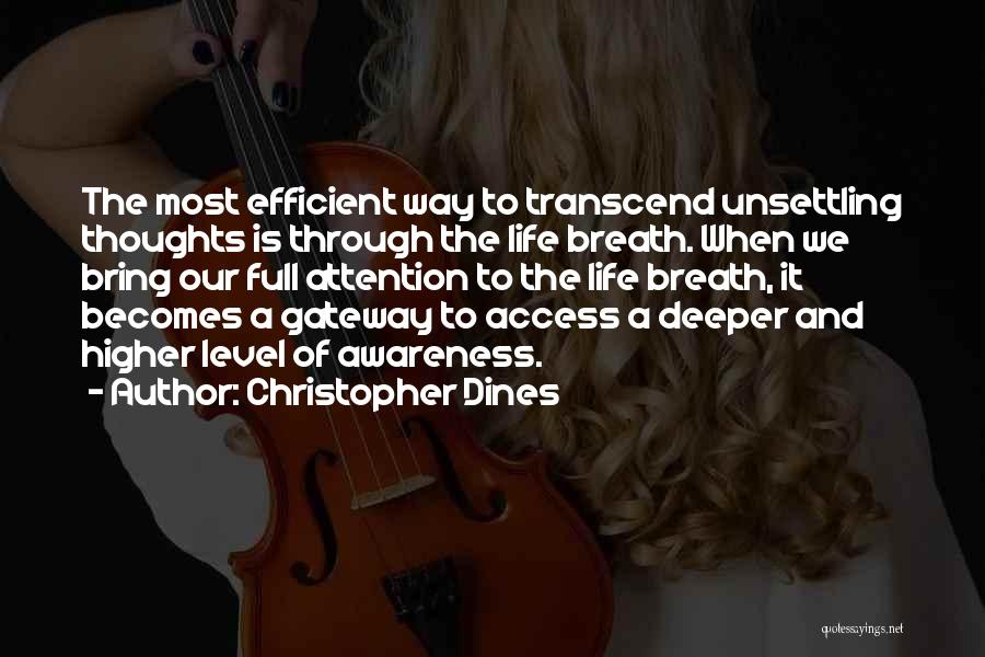 Kharisma P Lanang Quotes By Christopher Dines
