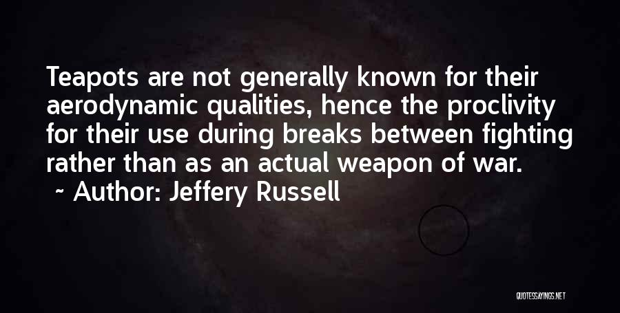 Kharisma P Lanang Quotes By Jeffery Russell