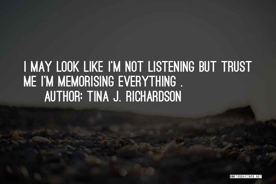 Kharisma P Lanang Quotes By Tina J. Richardson