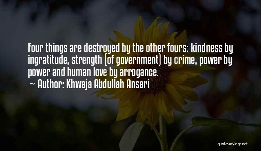 Khwaja Abdullah Ansari Quotes 430757