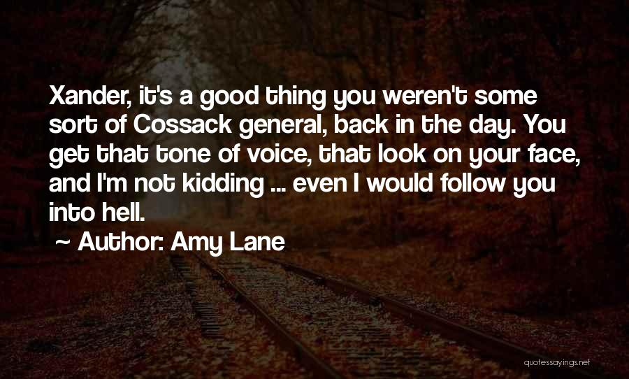 Kidding Quotes By Amy Lane