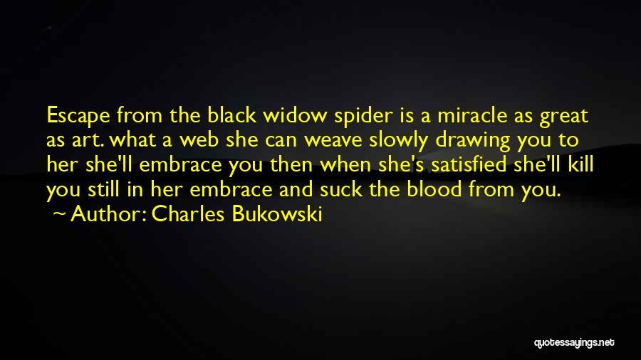 Kill Me Slowly Quotes By Charles Bukowski