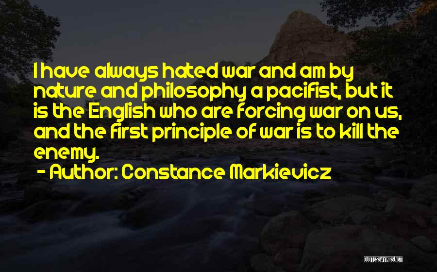 Kill Us Quotes By Constance Markievicz