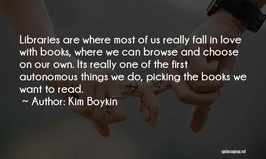 Kim Boykin Quotes 487903