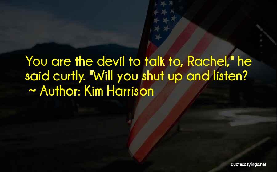 Kim Harrison Quotes 1864348