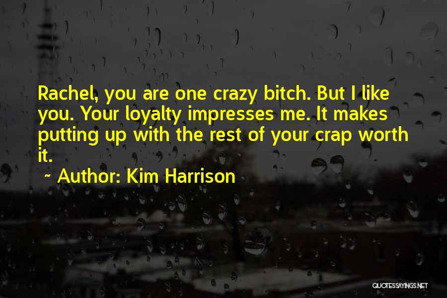 Kim Harrison Quotes 780586