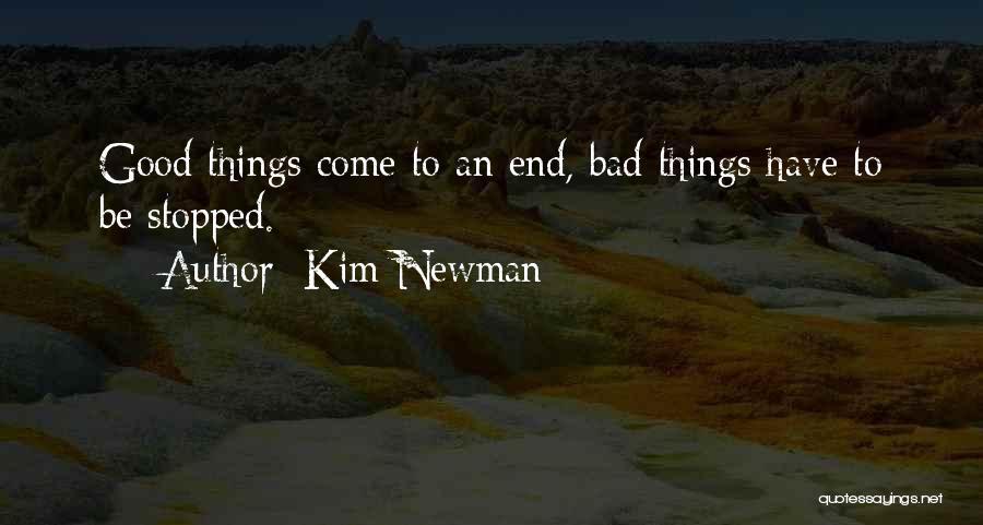 Kim Newman Quotes 830285