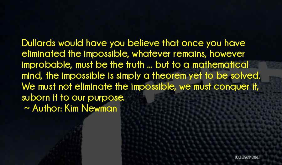 Kim Newman Quotes 907080