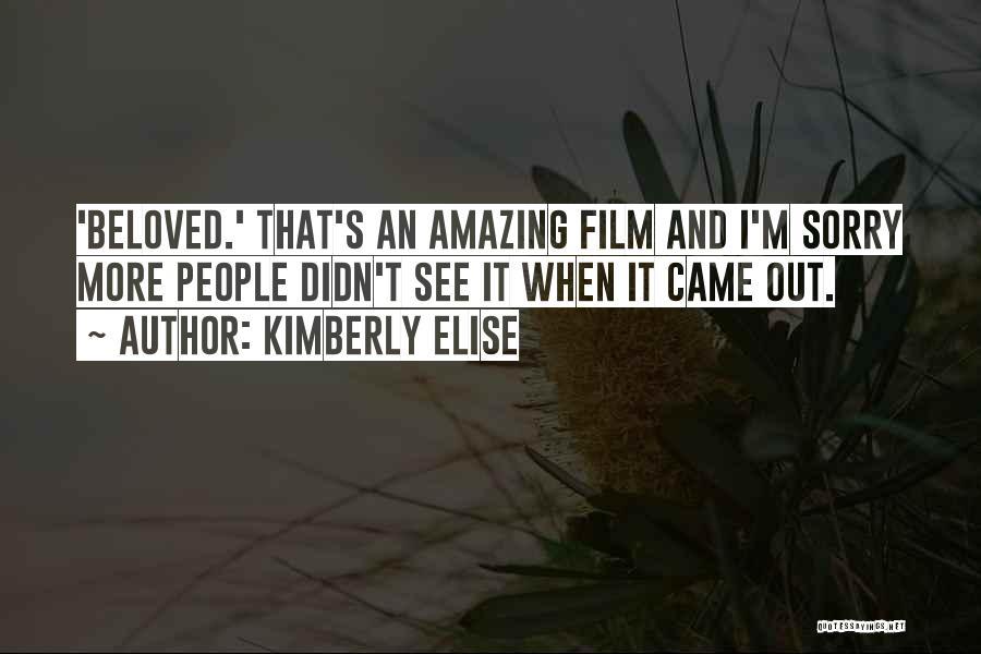 Kimberly Elise Quotes 1347041