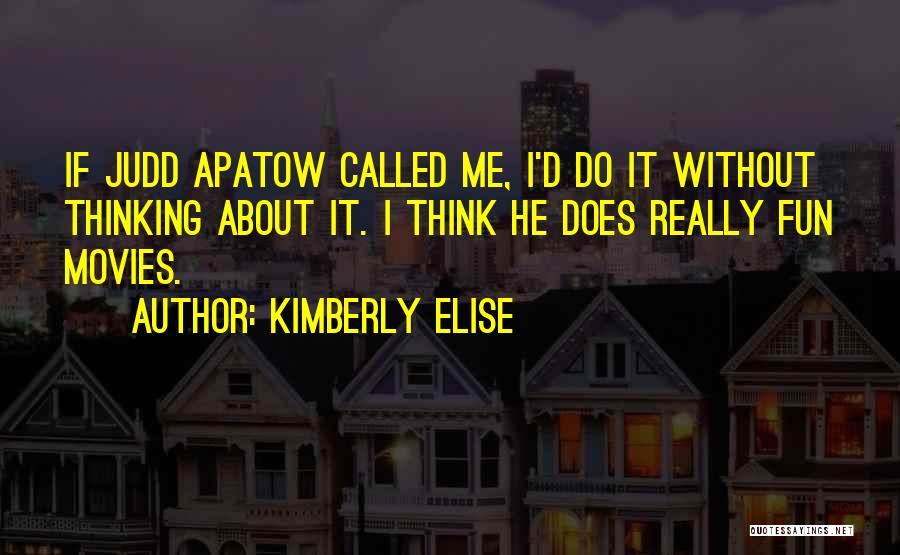 Kimberly Elise Quotes 313232