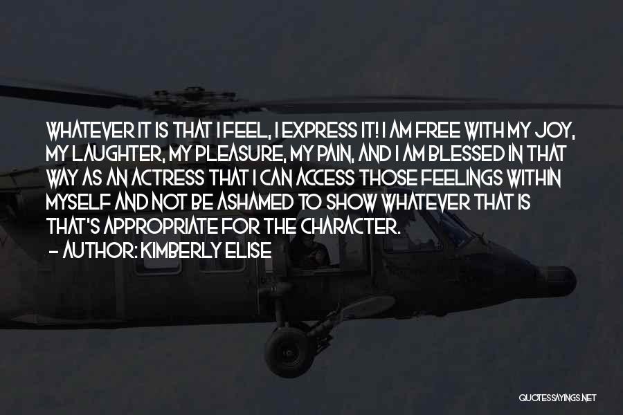 Kimberly Elise Quotes 602165