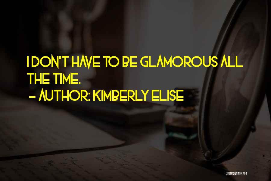 Kimberly Elise Quotes 77366