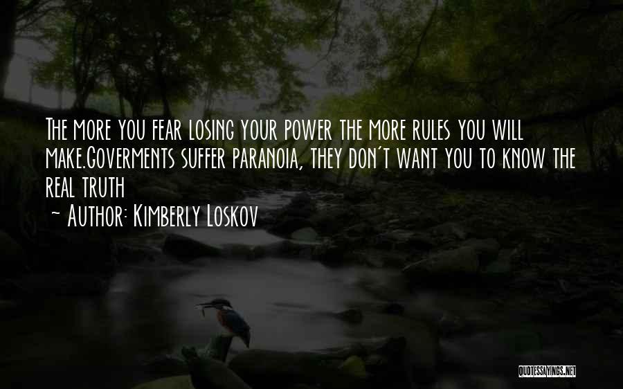 Kimberly Loskov Quotes 363042