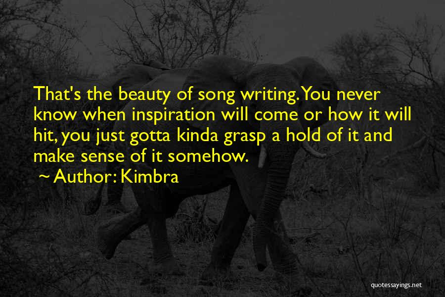 Kimbra Quotes 1806816
