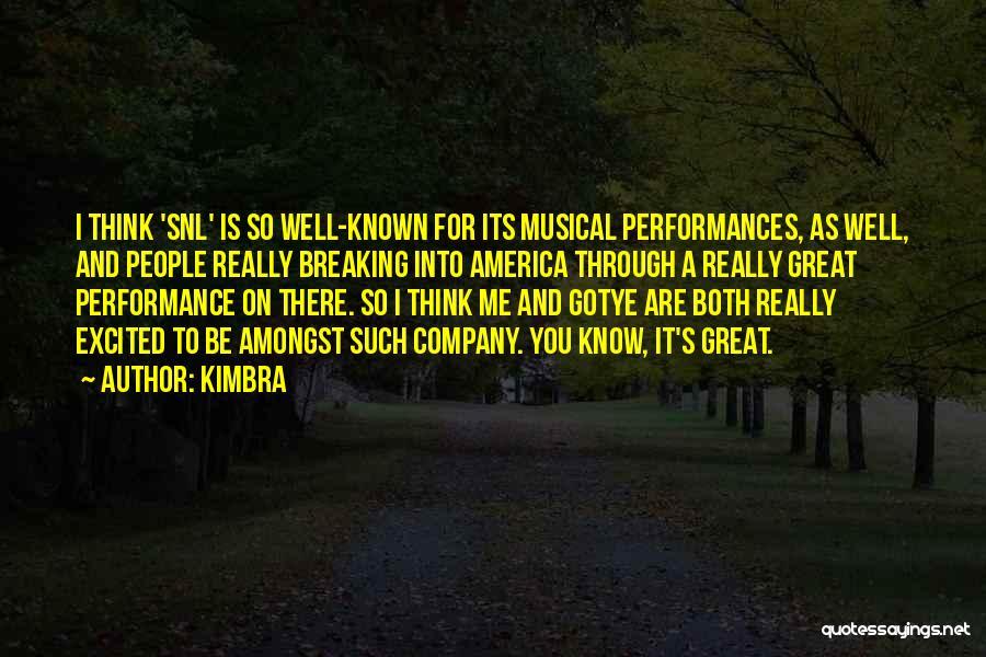 Kimbra Quotes 462844