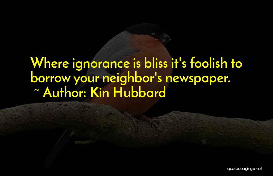 Kin Hubbard Quotes 206858