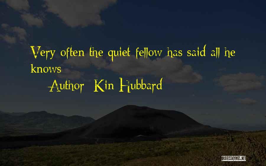 Kin Hubbard Quotes 912248