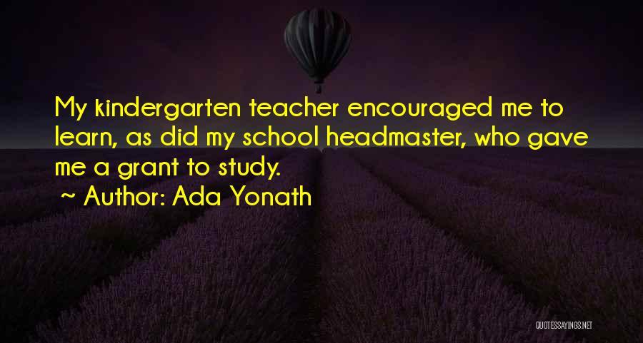 Top 24 Kindergarten Teacher Quotes & Sayings