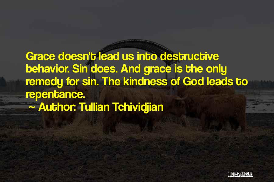 Kindness And Grace Quotes By Tullian Tchividjian