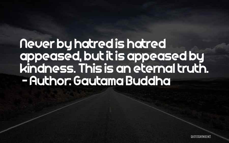 Kindness By Buddha Quotes By Gautama Buddha