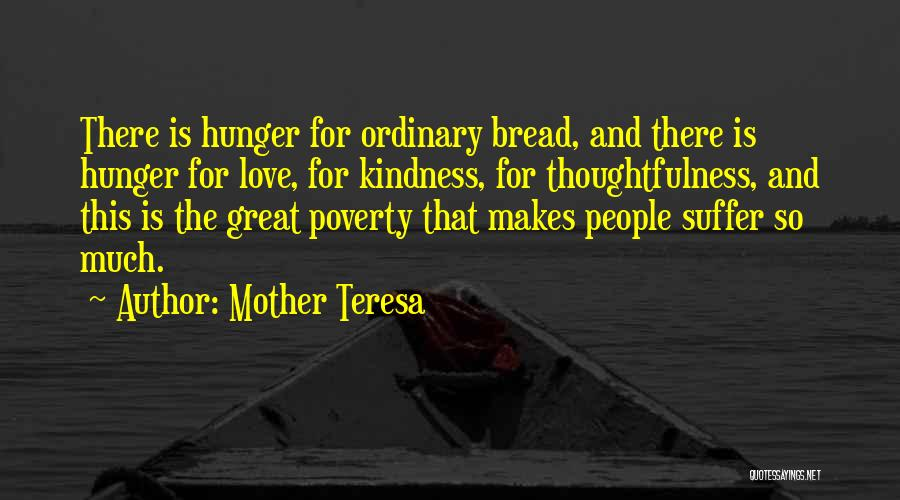 Kindness Thoughtfulness Quotes By Mother Teresa