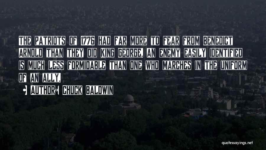 King Baldwin Quotes By Chuck Baldwin