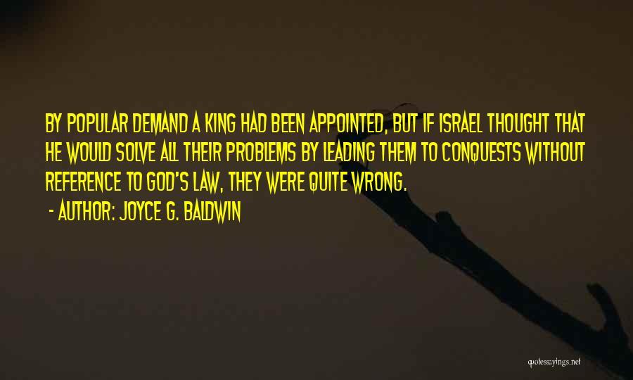 King Baldwin Quotes By Joyce G. Baldwin