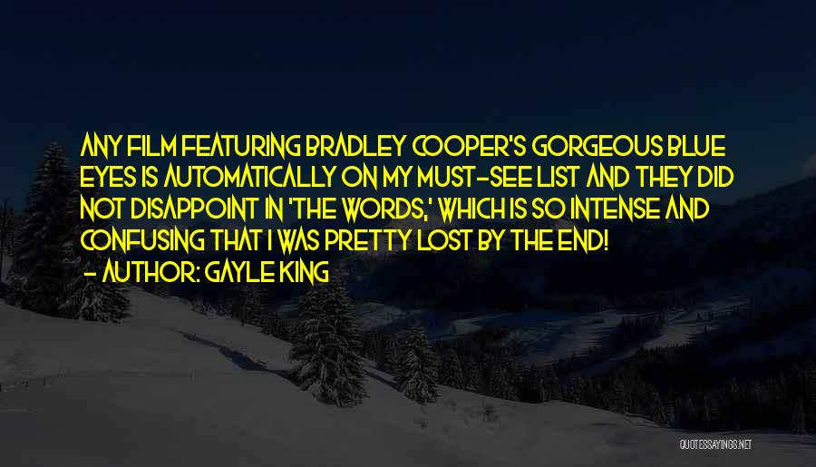 King Bradley Quotes By Gayle King