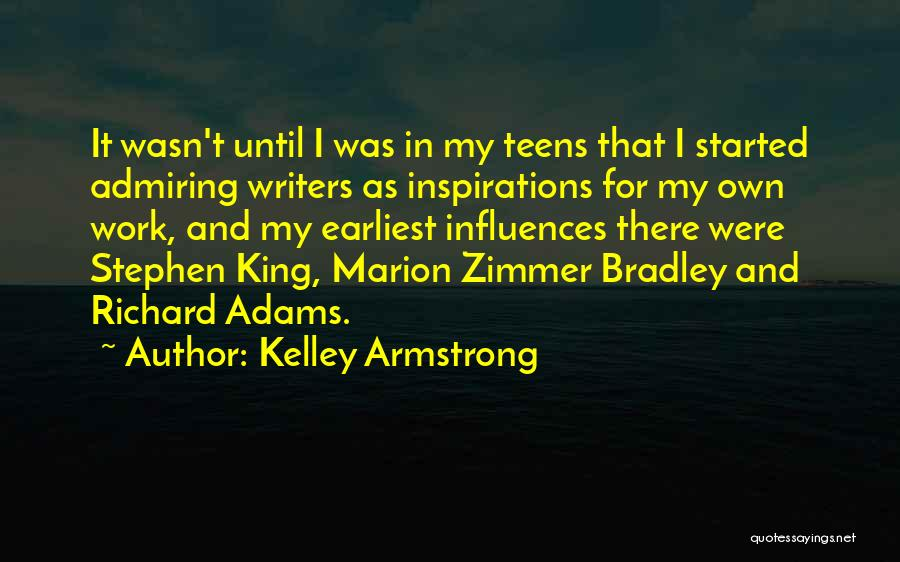 King Bradley Quotes By Kelley Armstrong
