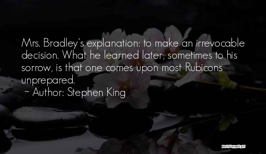 King Bradley Quotes By Stephen King