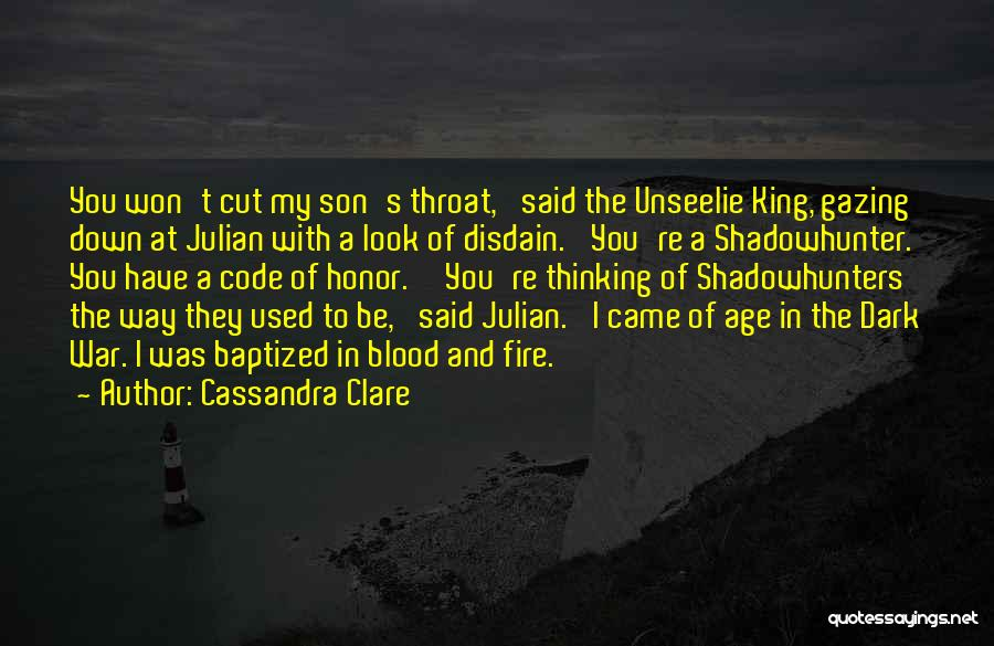 King Julian Quotes By Cassandra Clare