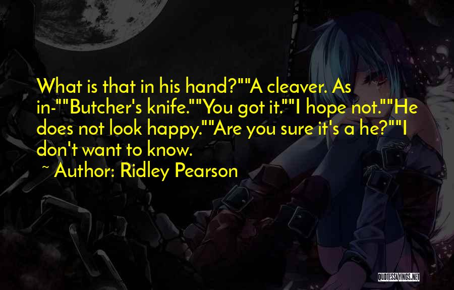 Kingdom Keepers 1 Quotes By Ridley Pearson