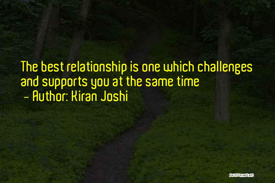 Kiran Joshi Quotes 839416