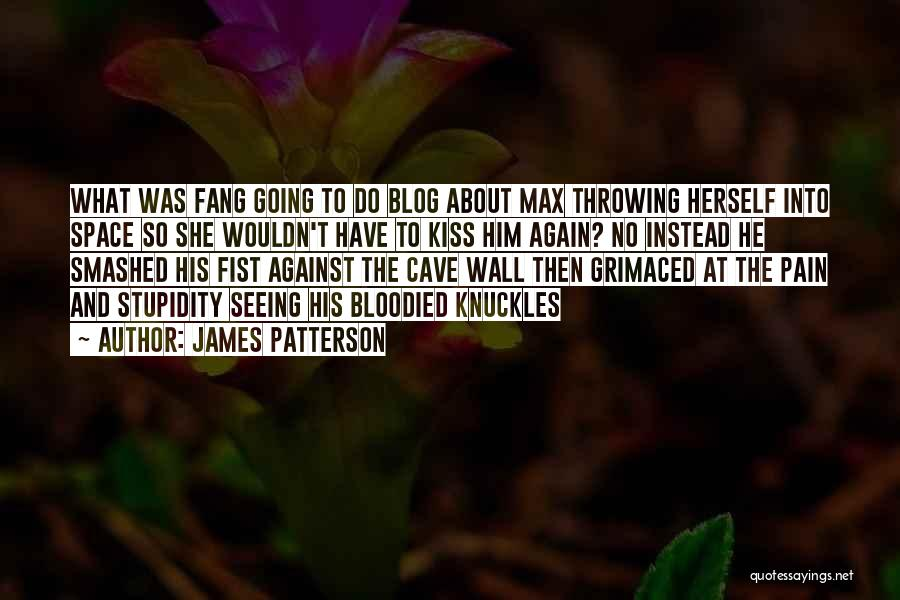 Kiss And Blog Quotes By James Patterson