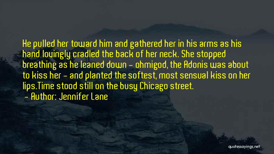 Kiss And Romance Quotes By Jennifer Lane