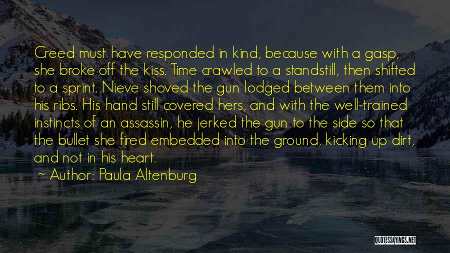 Kiss And Romance Quotes By Paula Altenburg