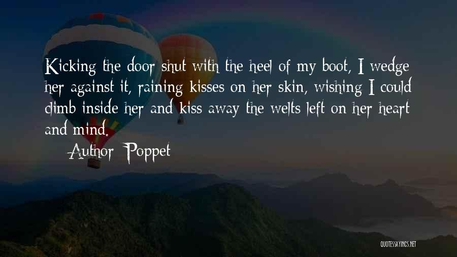 Kiss And Romance Quotes By Poppet