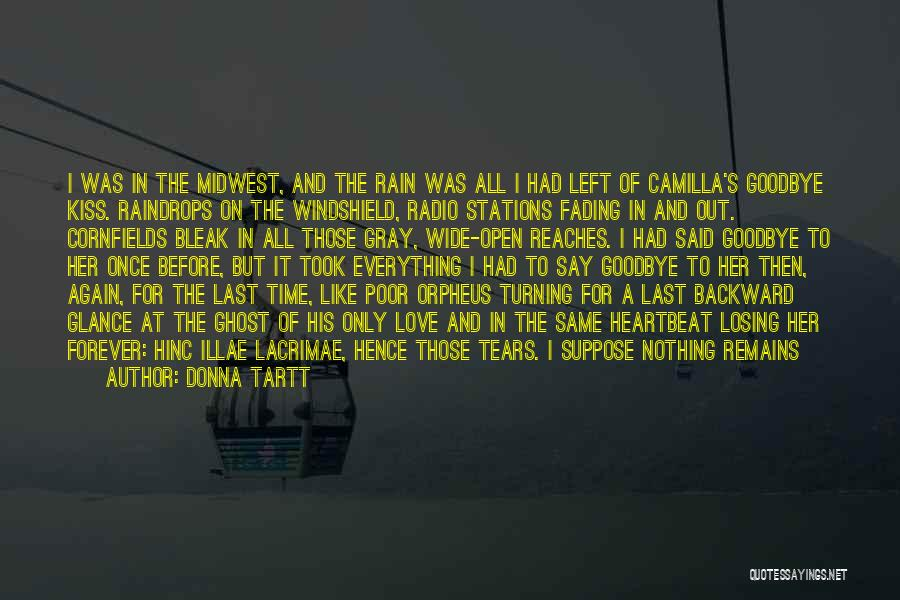 Kiss It Goodbye Quotes By Donna Tartt