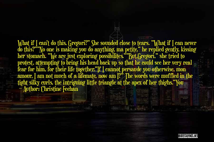 Kissing You Is Quotes By Christine Feehan