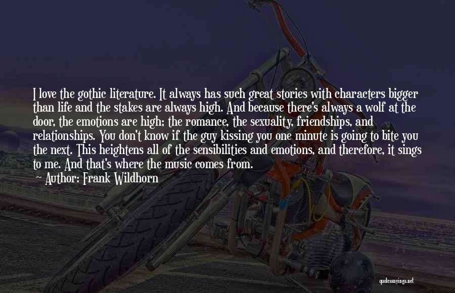 Kissing You Love Quotes By Frank Wildhorn