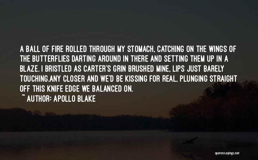 Kissing Your Ex Quotes By Apollo Blake