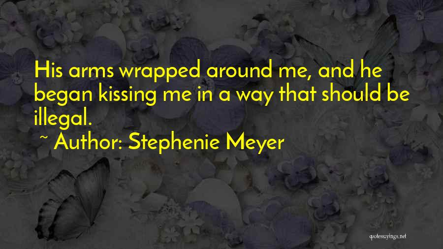 Kissing Your Ex Quotes By Stephenie Meyer