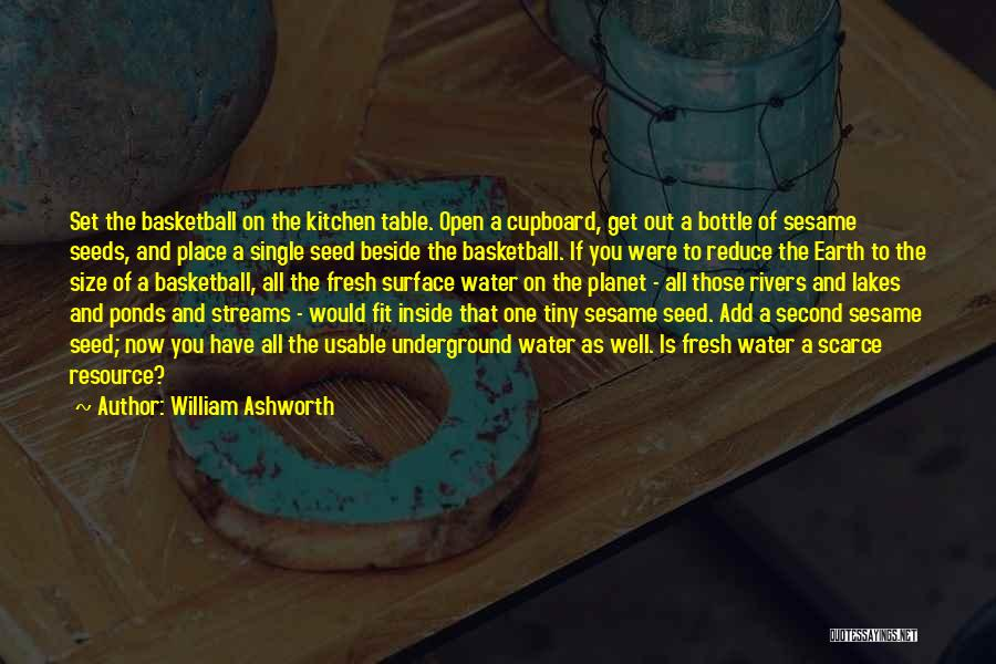 Kitchen Cupboard Quotes By William Ashworth